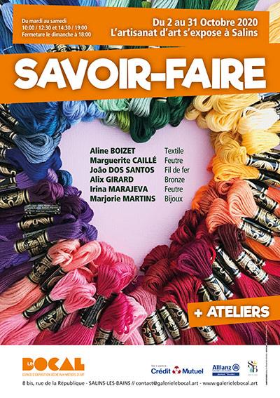 LeBocal - Affiche Savoir-Faire - Octobre 2020